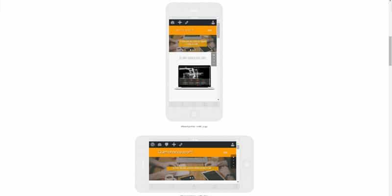 responsinator, como se ve en los distintos dispositivos